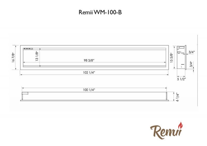 Remii WM-100-B tech specs