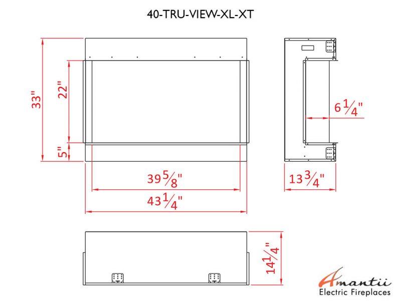 40-TRU-VIEW-XL XT specs
