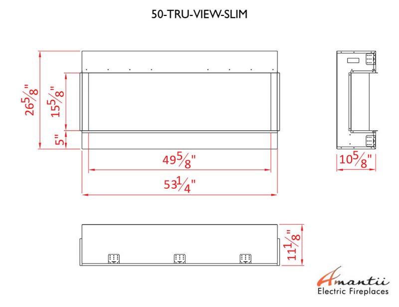 TRU-VIEW-SLIM-60 specs