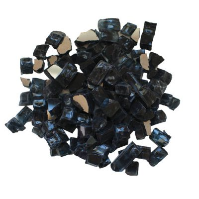 Fire Glass Media - ''Charcoal' Reflective - AMSF‐GLASS‐03