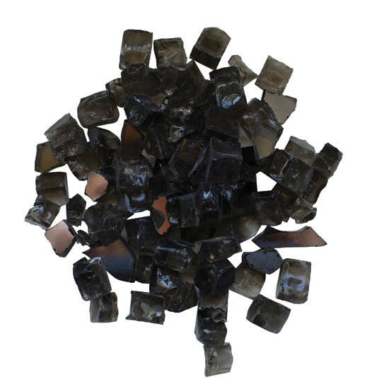 "Fire Glass Media - ""Dark Grey"" Reflective - AMSF‐GLASS‐05"