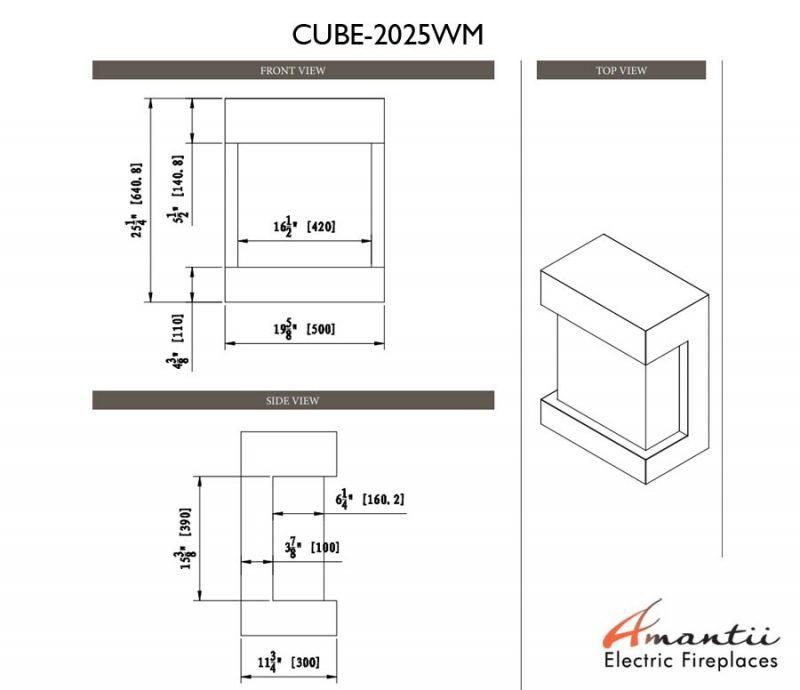 CUBE-2025WM tech specs