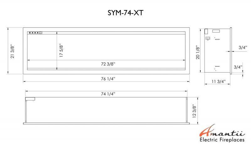SYM-74-XT specs