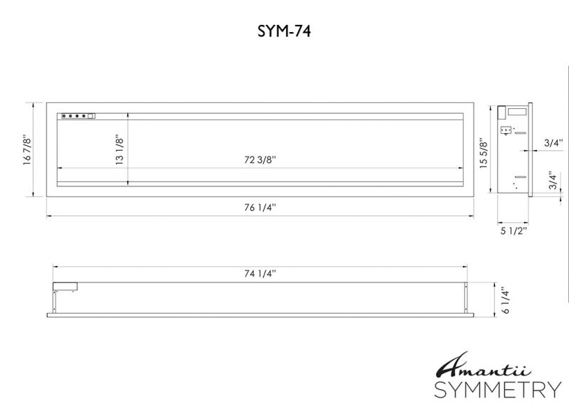 SYM-74 specs diagram