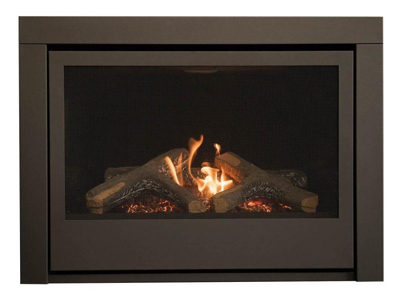 Thompson gas fireplace