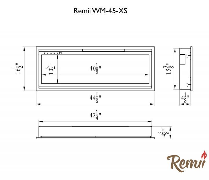 tech specs WM-45-XS