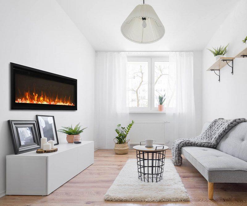 extra slim fireplace - WM-XS