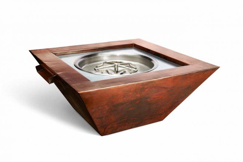 HPC Sierra Copper Fire & Water bowl