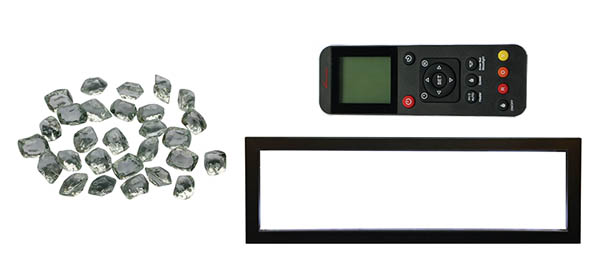 Electric fireplace accessories