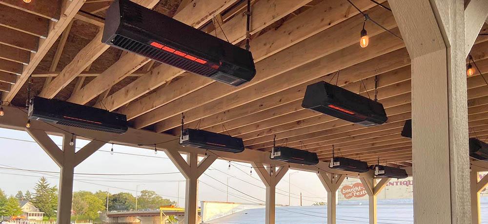 Schwank outdoor patio heater