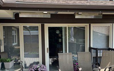 Happy Customer Extends Patio Season with Schwank Overhead Patio Heaters